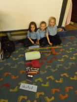 P3 Finding length and width using non standard units of measure.
