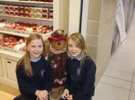 'Ring out the bells!' Tobermore Primary School Choir in Meadowlane Shopping Centre