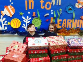 Christmas Shoe Box Appeal 2016