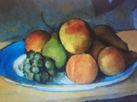\'Fruit Bowl\' by Paul Cezanne