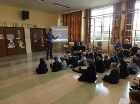 BB comes to Tobermore Primary School