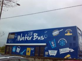 Water Bus Visits Tobermore!