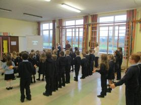 Special Assembly with Alan