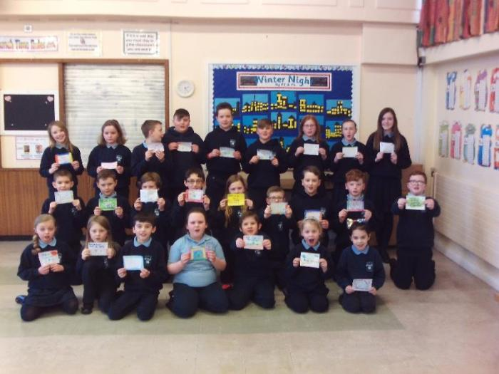 P4-P7 displaying their labels for the light switches.